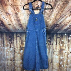 Vintage OshKosh Overall Dress